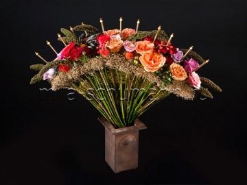 Аранжировки цветы